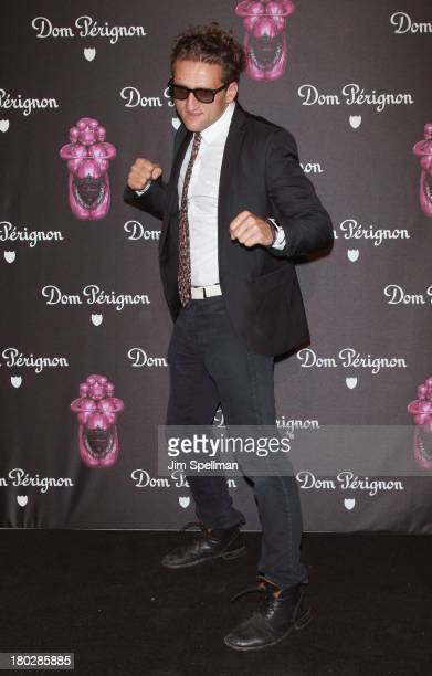 Director Casey Neistat attends the Dom Perignon Limited Edition Jeff Koons Bottle Launch at 711 Greenwich Street on September 10, 2013 in New York...