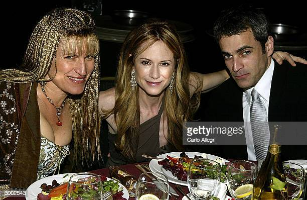Director Catherine Hardwicke, Actress Holly Hunter, and date Gordon MacDonald attend the 6th Annual Costume Guild Awards reception at the Beverly...