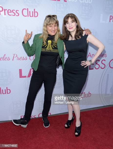 """Director Catherine Hardwicke and screenwriter Devra Maza attend a Q&A session at a screening of Tom Donahue's documentary """"This Changes Everything""""..."""