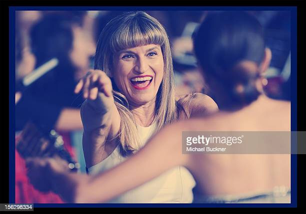 Director Catherine Hardwicke arrives at the Summit Entertainment's The Twilight Saga Breaking Dawn Part 2 at Nokia Theatre LA Live on November 12...