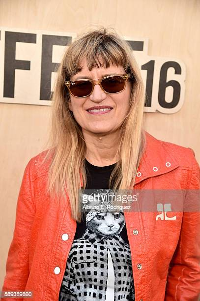 Director Catherine Hardwicke attends the White Girl and Annie premieres and QA during Sundance NEXT FEST at The Theatre at The Ace Hotel on August 13...