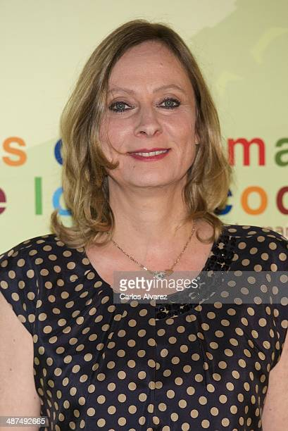 Director Cecile Telerman attends the Los Ojos Amarillos de los cocdrilos premiere at the Academia de Cine on April 30 2014 in Madrid Spain