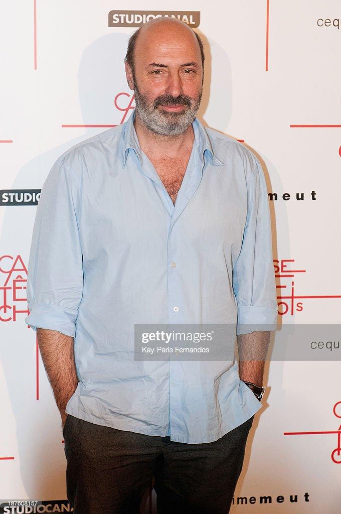 Director Cedric Klapisch attends the 'Casse Tete Chinois' Paris Premiere at Le Grand Rex on November 10, 2013 in Paris, France.