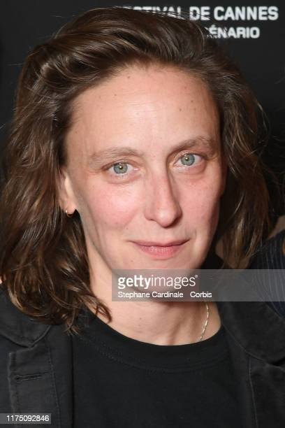 Director Celine Sciamma attends the Premiere of 'Portrait de la Jeune Fille En Feu' at UGC Les Halles on September 16 2019 in Paris France