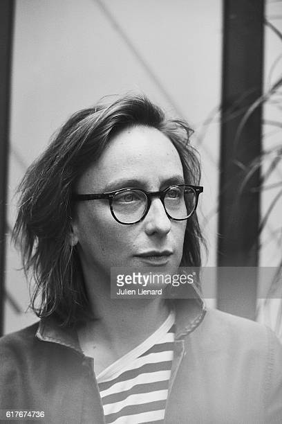 Director Celine Sciamma is photographed for Le Film Francais on October 14 2016 in Paris France