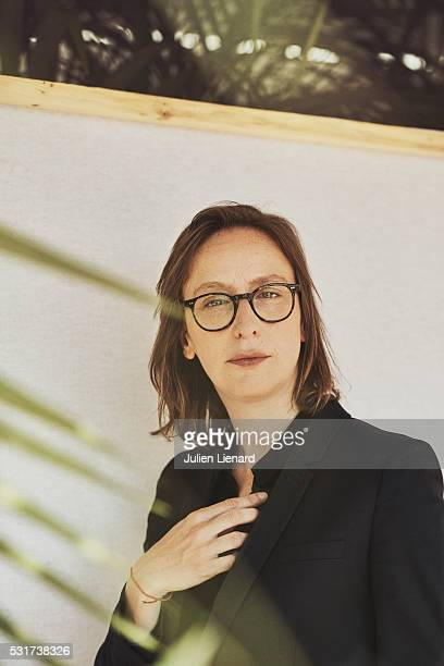 Director Celine Sciamma is photographed for Self Assignment on May 14 2016 in Cannes France