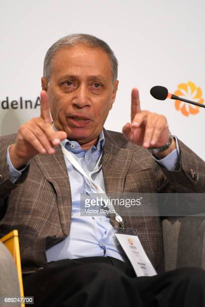 Director Center of Refugee and Migration Studies American University of Cairo Ibrahim Awad during The Aurora Humanitarian Index Measuring Global...