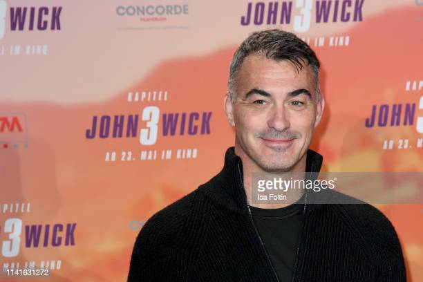 US director Chad Stahelski poses at the John Wick Chapter 3 ñ Parabellum photocall at Hotel De Rome on May 6 2019 in Berlin Germany