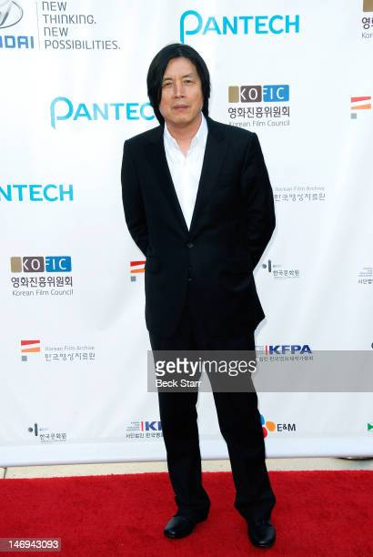 Director Changdong Lee arrives at 'Look East Korean Film Festival' opening ceremony gala at Grauman's Chinese Theatre on June 23 2012 in Hollywood...
