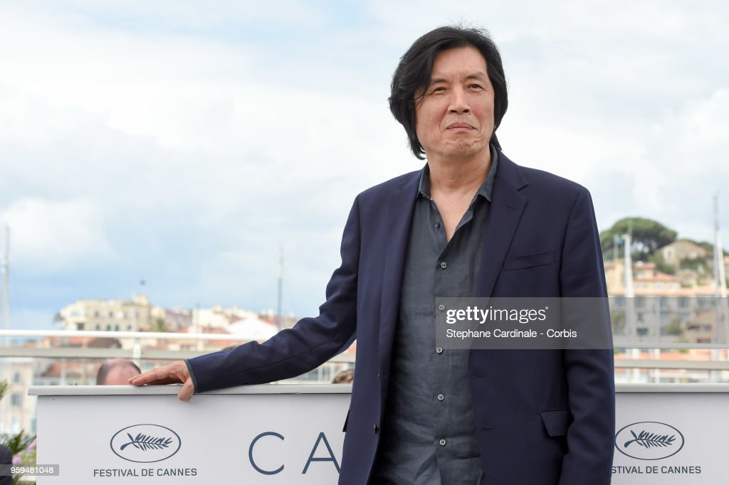 director Chang-dong Lee attends 'Burning' Photocall during the 71st annual Cannes Film Festival at Palais des Festivals on May 17, 2018 in Cannes, France.