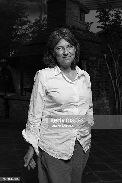 Director Chantal Akerman is photographed for Self Assignment on September 4 2011 in Venice Italy