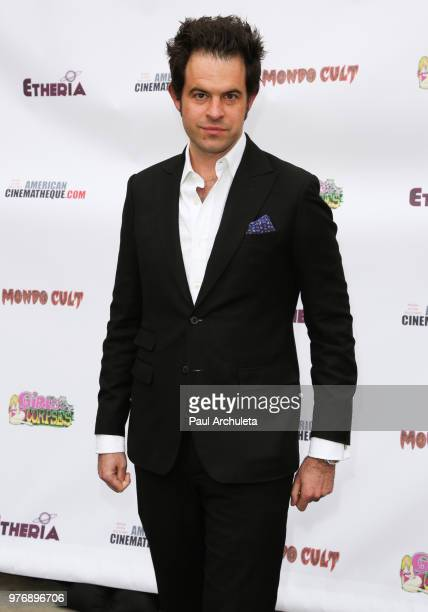 Director Charles Agron attends the Etheria Film Night at the Egyptian Theatre on June 16 2018 in Hollywood California