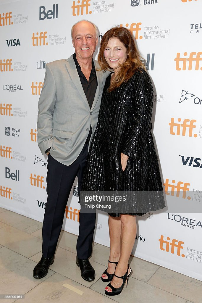 Director Charles Biname (L) and actress Catherine Keener attends the 'Elephant Song' premiere during the 2014 Toronto International Film Festival at Isabel Bader Theatre on September 10, 2014 in Toronto, Canada.