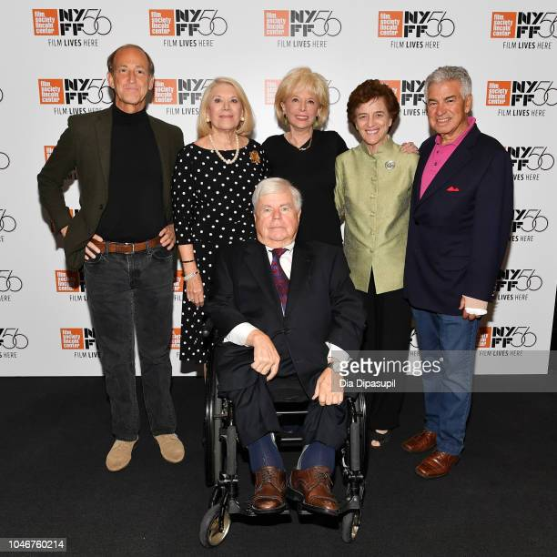 Director Charles Ferguson Jill WineBanks Evan Davis Lesley Stahl Elizabeth Holtzman and Richard BenVeniste attend the Watergate screening QA during...