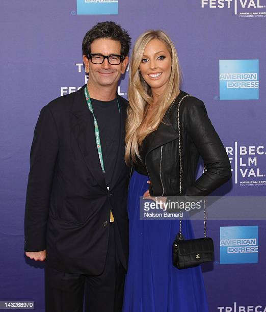 Director Charles Matthau and Ashley L Anderson attend Tribeca Talks After The Movie Freaky Deaky during the 2012 Tribeca Film Festival at the School...