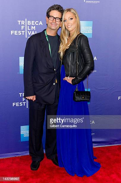Director Charles Matthau and wife Ashley Lauren Anderson attends Tribeca Talks Freaky Deaky during the 2012 Tribeca Film Festival at SVA Theater on...