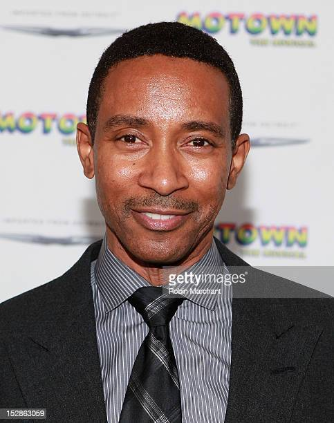 Director Charles RandolphWright attends Motown The Musical Broadway Spring Launch Event at Nederlander Theatre on September 27 2012 in New York City