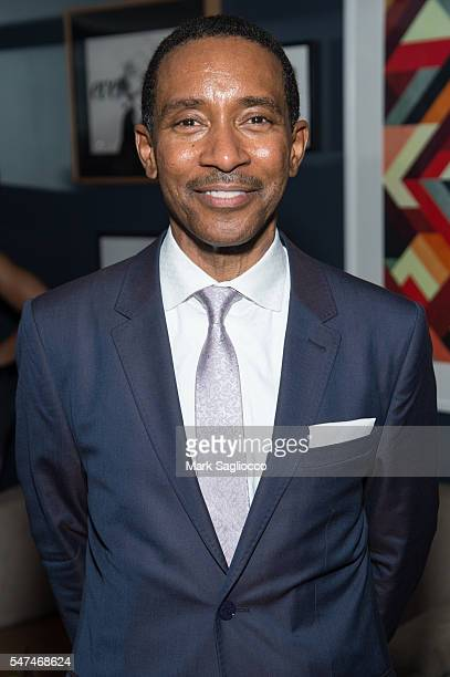 Director Charles RandolphWright attends the Motown The Musical Returns To Broadway at Nederlander Theatre on July 14 2016 in New York City