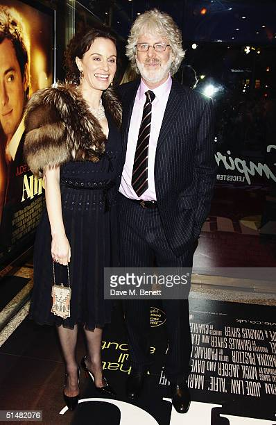 Director Charles Shyer and guest arrive at the World Premiere of Alfie at the Empire Leicester Square on October 14 2004 in London