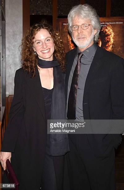 Director Charles Shyer and his girlfriend Debrah Lynn attend a private screening of his new movie The Affair of the Necklace November 27 2001 at a...