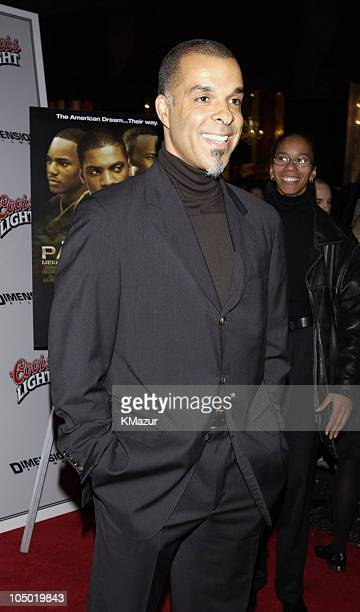 Director Charles Stone III during Paid In Full Premiere New York at Loews 19th Street East Theather in New York City New York United States