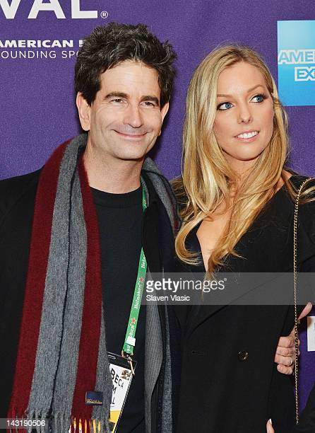 Director Charlie Matthau and actress Ashley L Anderson attend the Supporting Characters Premiere during the 2012 Tribeca Film Festival at the AMC...