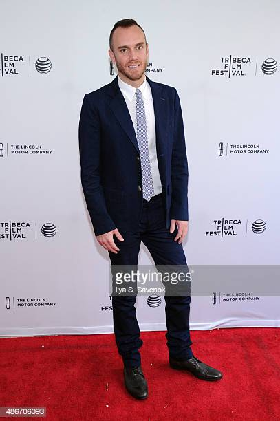 Director Charlie McDowell attends the The One I Love Premiere during the 2014 Tribeca Film Festival at the SVA Theater on April 25 2014 in New York...