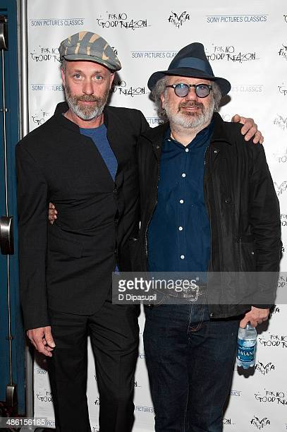 Director Charlie Paul and Hal Willner attend the For No Good Reason screening at AMC Loews 19th Street Theater on April 22 2014 in New York City