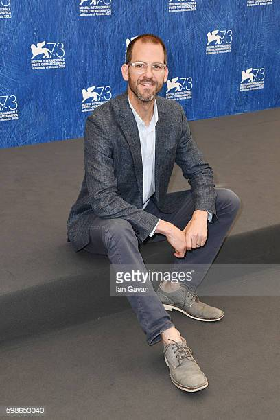 Director Charlie Siskel attends a photocall for 'American Anarchist' during the 73rd Venice Film Festival at Sala Grande on September 2 2016 in...