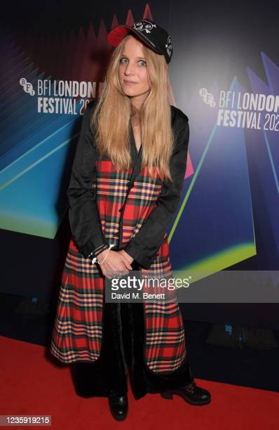 """Director Charlotte Colbert attends the UK Premiere of """"She Will"""" during the 65th BFI London Film Festival at the The Curzon Mayfair on October 16,..."""