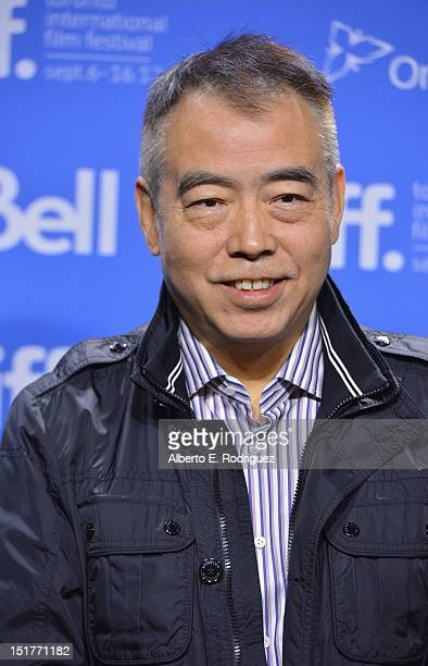 """Director Chen Kaige attends the """"Caught In The Web"""" Photo Call during the 2012 Toronto International Film Festival at TIFF Bell Lightbox on September..."""