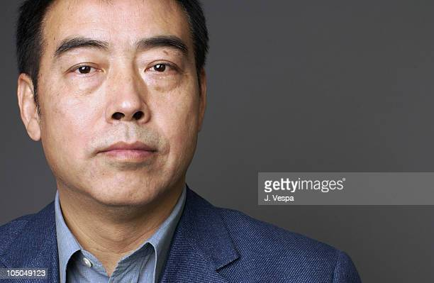 """Director Chen Kaige during 2002 Toronto Film Festival - """"Together"""" Portraits at Hotel Inter-Continental in Toronto, Ontario, Canada."""