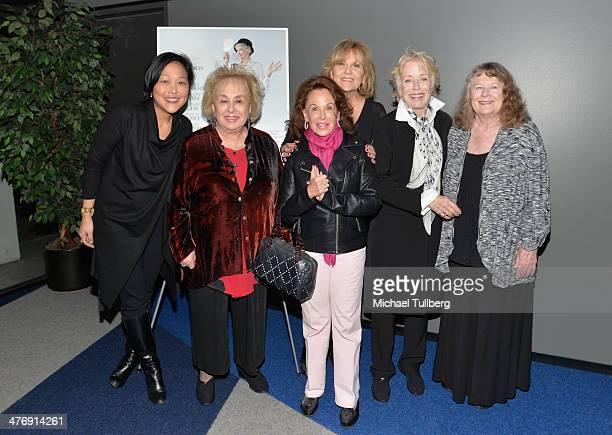 Director Chiemi Karasawa actress Doris Roberts socialite Nikki Haskell and actresses Brenda Vaccaro Holland Taylor and Shirley Knight attend a...