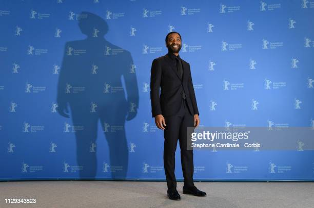 "Director Chiwetel Ejiofor poses at the ""The Boy Who Harnessed The Wind"" photocall during the 69th Berlinale International Film Festival Berlin at..."