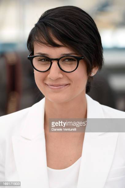 Director Chloe Robichaud attends the photocall for 'Sarah Prefere La Course' during The 66th Annual Cannes Film Festival at Palais des Festivals on...