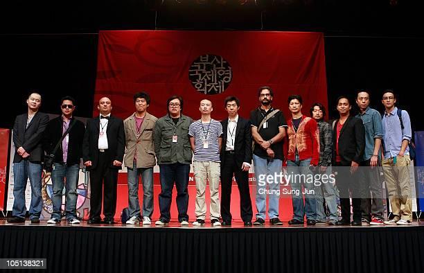 Director Chris Chow of China Sheron Dayoc of Philippines Ali Hassa of Iraq Kim SooHyun of South Korea Sivaroj Kongsakul of Thailand Li Rui Jun of...