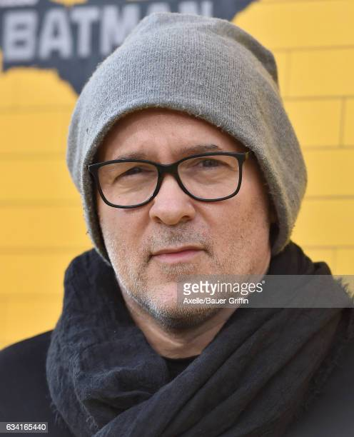 Director Chris McKay arrives at the premiere of Warner Bros Pictures' 'The LEGO Batman Movie' at Regency Village Theatre on February 4 2017 in...