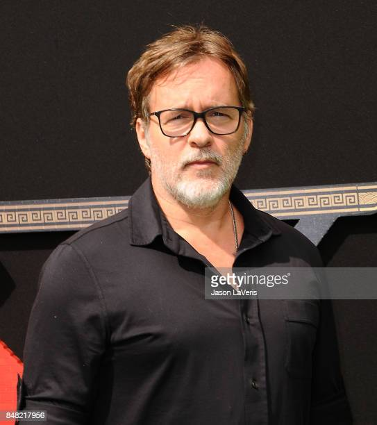"""Director Chris McKay attends the premiere of """"The LEGO Ninjago Movie"""" at Regency Village Theatre on September 16, 2017 in Westwood, California."""