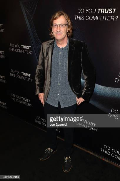 Director Chris Paine arrives at the 'Do You Trust This Computer' premiere at Regency Village Theatre on April 5 2018 in Westwood California