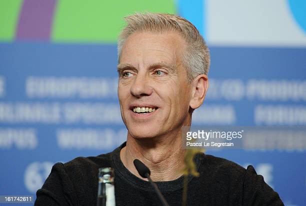 Director Chris Sanders attends 'The Croods' Press Conference during the 63rd Berlinale International Film Festival at the Grand Hyatt Hotel on...
