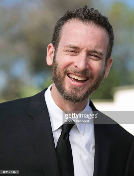 Director Chris Williams attends Disney's Big Hero 6 photo call with baymax on February 2 2015 in Beverly Hills California