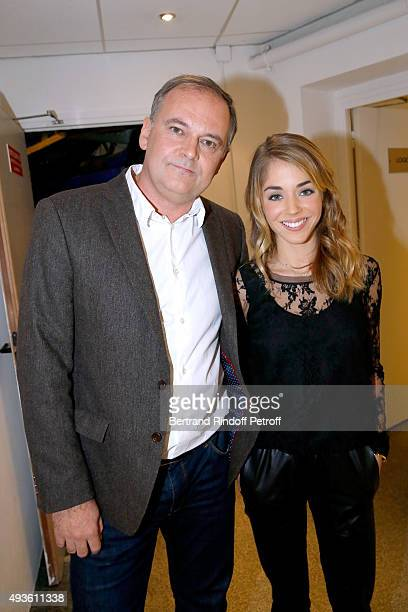 """Director Christian Carion and Actress Alice Isaaz present the Movie """"En Mai, fait ce qu'il te plait"""" during the 'Vivement Dimanche' French TV Show at..."""