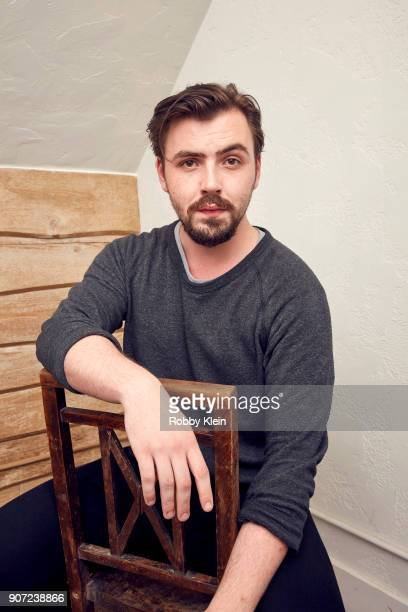 Director Christian Stephens from the film 'The Sun Ladies' poses for a portrait in the YouTube x Getty Images Portrait Studio at 2018 Sundance Film...