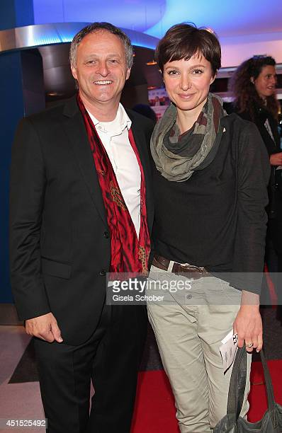 Director Christian Wagner and Julia Koschitz attend the 'Das Ende der Geduld' Premiere as part of Filmfest Muenchen 2014 at Rio Filmpalast on June 30...