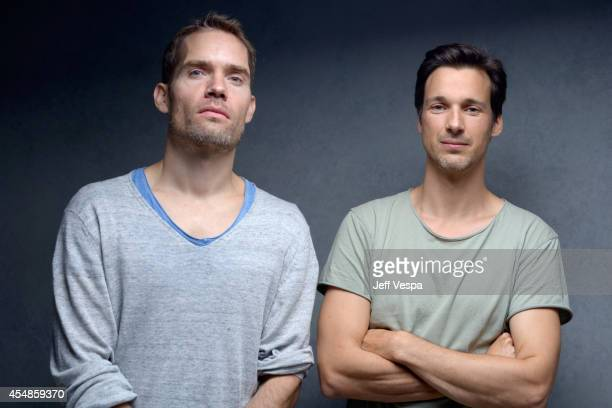 Director Christian Zubert and actor Florian David Fitz of 'Tour de Force' pose for a portrait during the 2014 Toronto International Film Festival on...