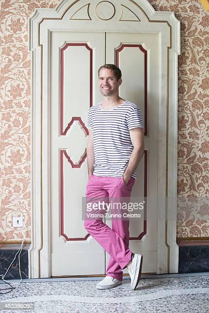 Director Christian Zubert poses on August 9 2014 in Locarno Switzerland