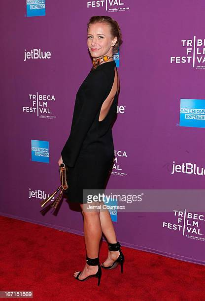 Director Christina Voros attends The Director World Premiere during the 2013 Tribeca Film Festival on April 21 2013 in New York City