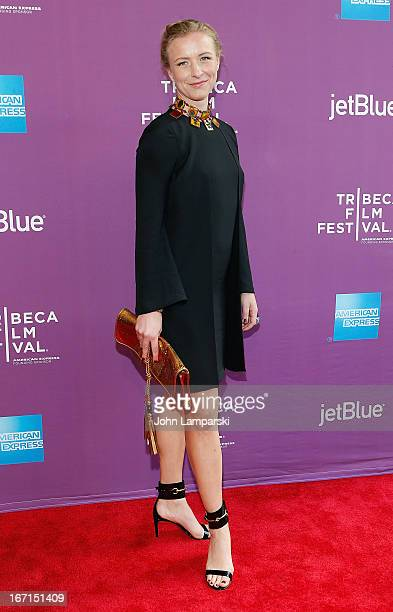 Director Christina Voros attends the screening of The Director during the 2013 Tribeca Film Festival at SVA Theater on April 21 2013 in New York City