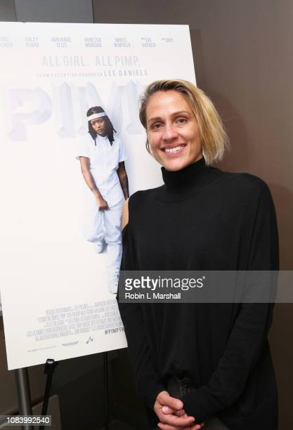 Director Christine Crokos attends NAACP Image Awards Screening of 'PIMP' on December 17 2018 in Los Angeles California