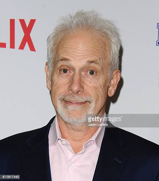Director Christopher Guest attends a screening of Mascots at Linwood Dunn Theater on October 5 2016 in Los Angeles California